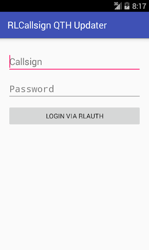 RLCallsign QTH Updater