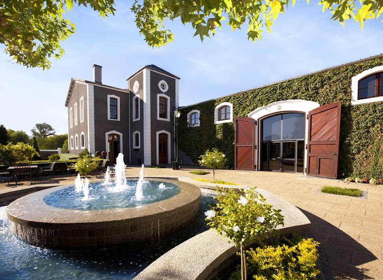 The Van Ryn's century-old distillery in Stellenbosch.