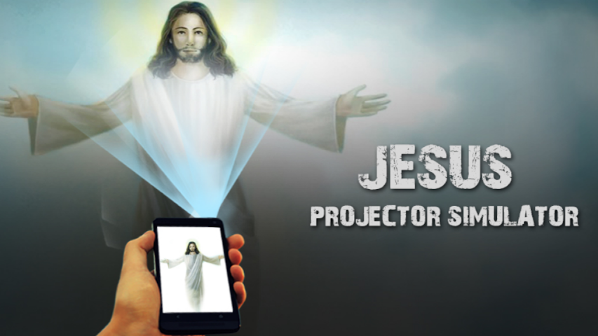 android Jesus Projector Simulator Pro Screenshot 1