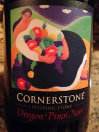 Logo for Cornerstone 'Stepping Stone' Pinot Noir Willamette Valley