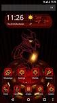 screenshot of Red Iron Hero 3D Theme