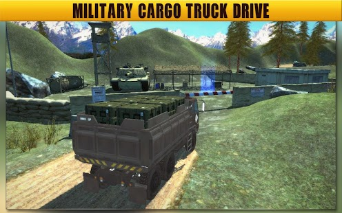 Army Truck Driving Simulator 17 - Transport Game - náhled