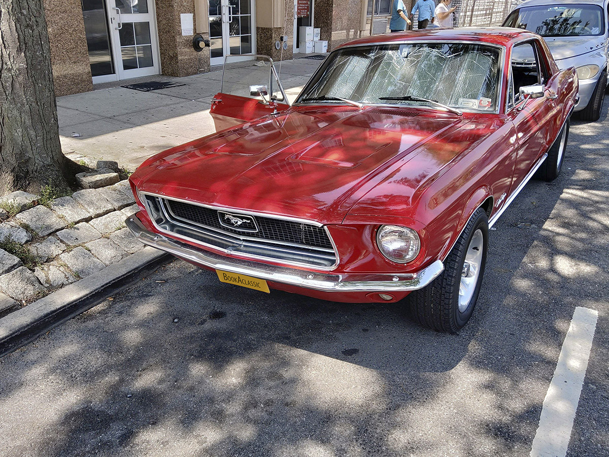 Ford Mustang Hire queens