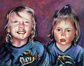Photo: Portrait commission 2011 - 22 X 28 - Sold