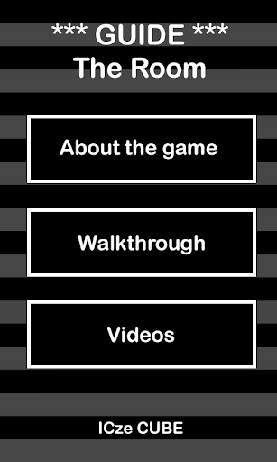WALKTHROUGH The Room
