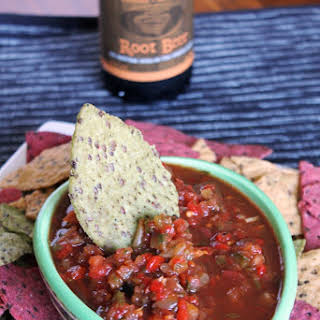 Caramelized Onion & Roasted Red Pepper Salsa.