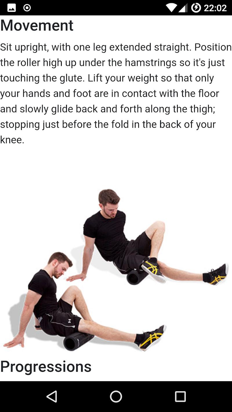 Скриншот Foam Roller Exercises
