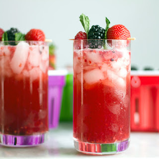 Berry Mint Gin Smash Recipe