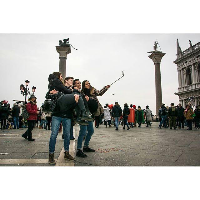 Selfie a Venezia   di Grapela