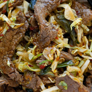 Mongolian Beef with Noodles