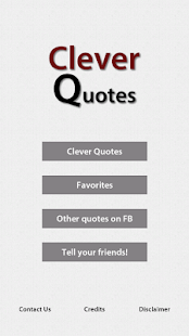 Clever Quotes - náhled