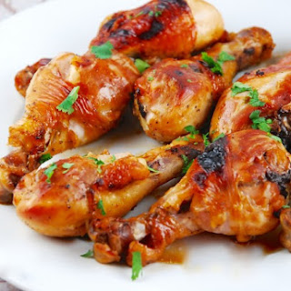 Honey Soy Chicken Drumsticks.