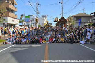 Photo: 【平成21年(2009) 本宮】  お仮屋前での記念撮影。