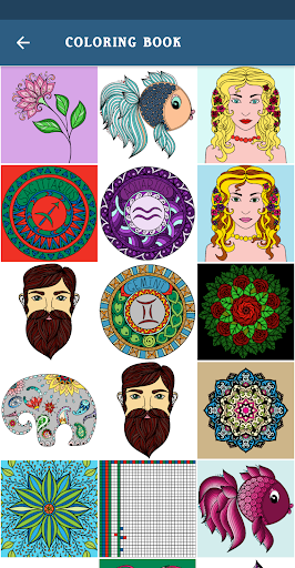 Coloring Mandala - Adult Coloring Books for PC