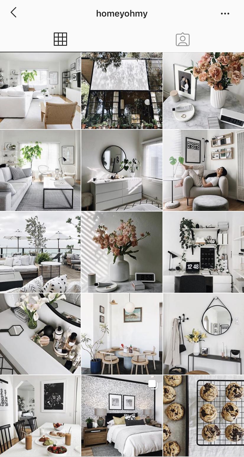 Homeyohmy Interior Design Instagram