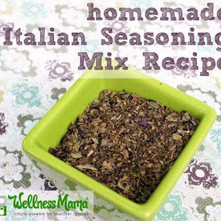 Homemade Italian Seasoning Recipe.