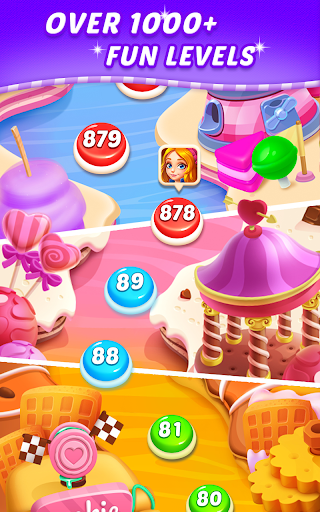 Sweet Candy Puzzle: Crush & Pop Free Match 3 Game apkdebit screenshots 10