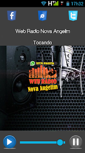 Web Rádio Nova Angelim - náhled