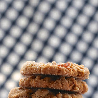 Peanut Butter Bacon and Dark Chocolate Cookies.