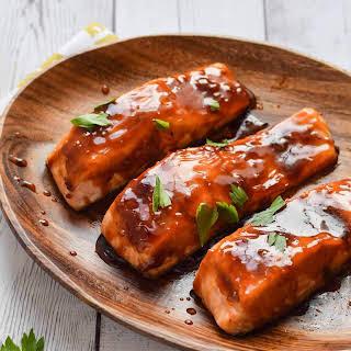 Easy Teriyaki Salmon.