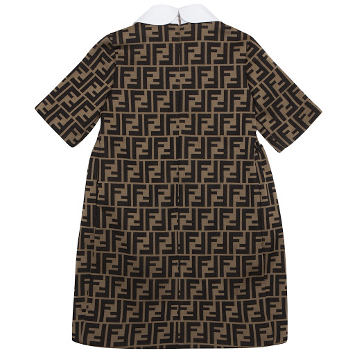 Thumbnail images of Fendi 'FF' Logo Dress