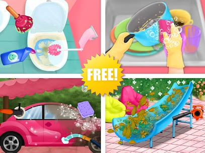 Sweet Baby Girl Cleanup 4 – House, Pool & Stable 10