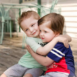 Brotherly Love by Nancy Senchak - Babies & Children Toddlers