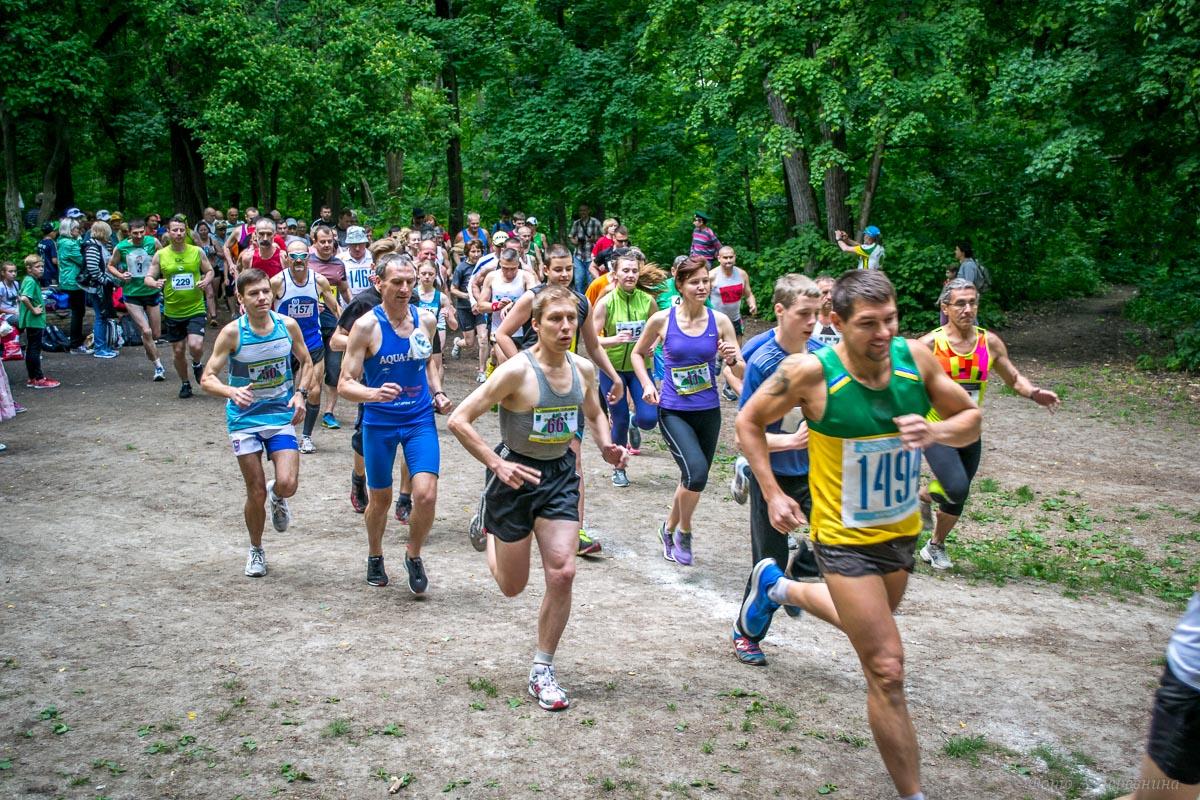 Фотографии. Чемпионат Харькова по горному бегу Зеленые  горки