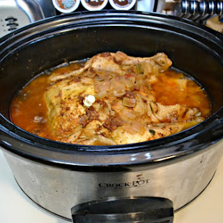 Slow Cooker Whole Chicken and Gravy