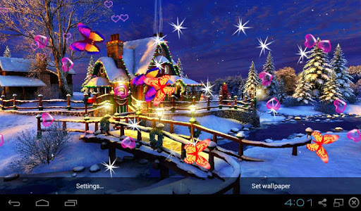3D Christmas Wallpapers screenshot 0