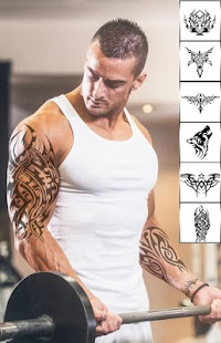 Cool Tattoos and Hairstyles: Photo Editor - náhled