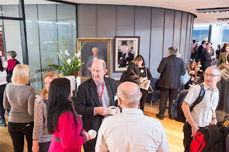 Photo: Profs Nip Thomson and Jayashri Kulkarni in the foreground. Paintings of founding Chair of Medicine at the Alfred, Barry Firkin and his successor, Nip Thomson, in the background. http://www.med.monash.edu.au/cecs/events/2015-tr-symposium.html