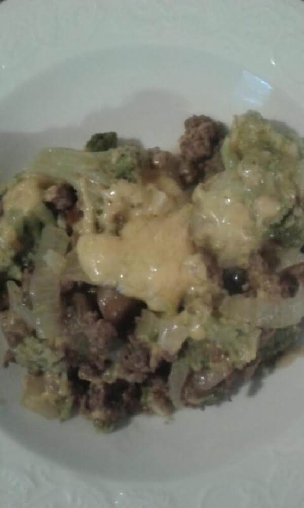 Lower Carb Broccoli Casserole Recipe