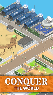 Idle Army Base (MOD, Free Shopping) APK for Android 4