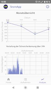 SnoreApp Pro: snoring