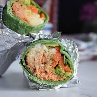 Spicy Tuna 'Sushi' Wrap.