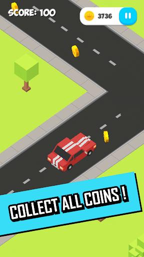 Pixel ZigZag Cars