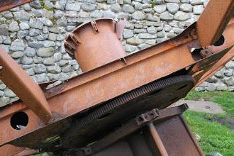 Photo: Borga Eggum - Reste der Radarantenne