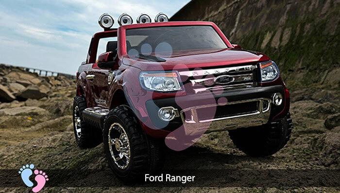 Ô tô điện trẻ em 2 chỗ ngồi Ford Ranger 6