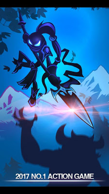 League of Stickman 2017-Ninja - screenshot