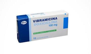 Vibramicina 100Mg   Tabletas Caja X15Tab. Pfizer Doxiciclina