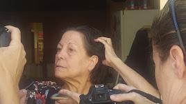 La mujer, expareja del abuelo del niño, a la que la presunta asesina ha ido a pedir ayuda a Las Norias.