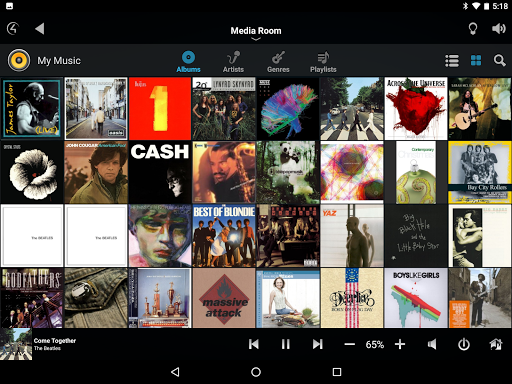 Control4u00ae for Android  screenshots 8
