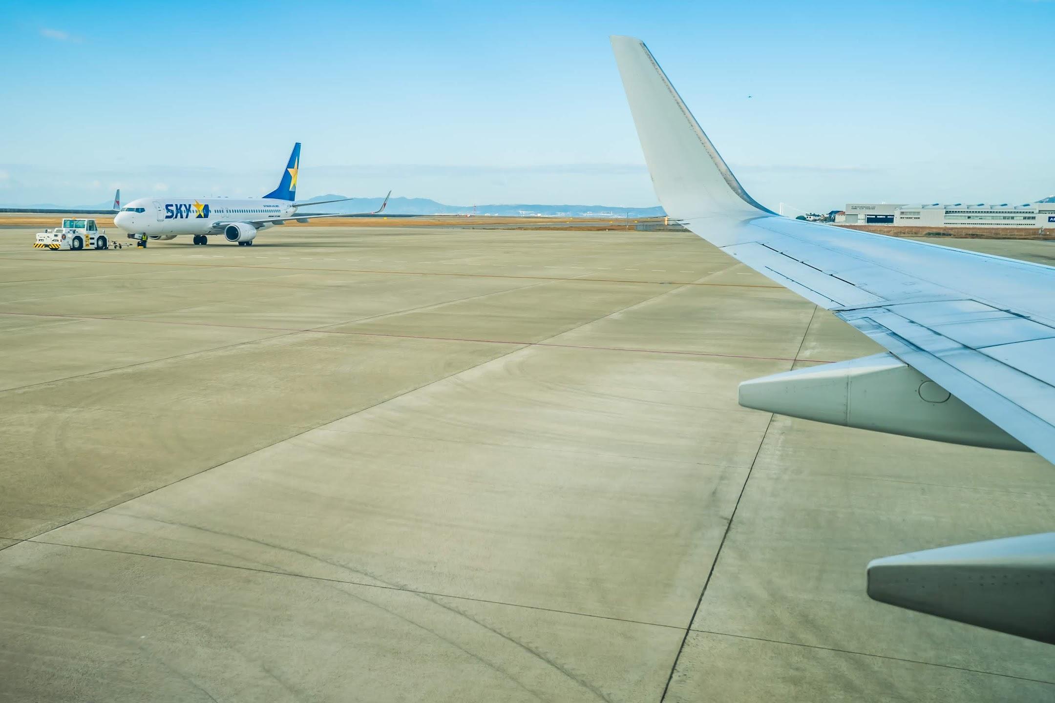 スカイマーク 神戸空港2