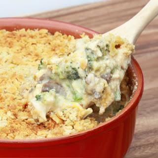 Broccoli, Cheese & Rice Casserole.