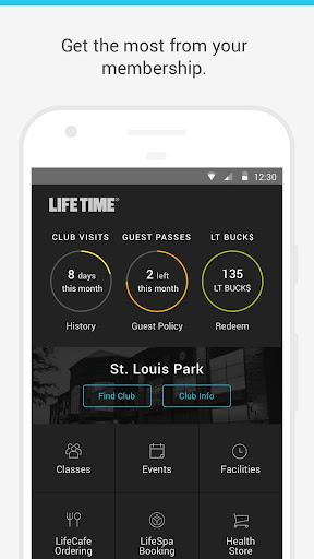 Life Time Member App 1.8.1 screenshots 1