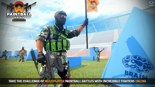 Paintball Arena - PvP Shooting Combat Challenge apk screenshot