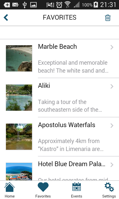 Thassos by Visit Thassos- screenshot