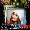 Christmas photo frame 2021 icon