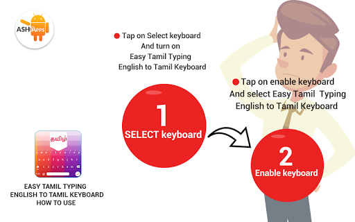 Easy Tamil Typing - English to Tamil Keyboard App Report on
